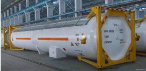 танк контейнер для сжиженного газа