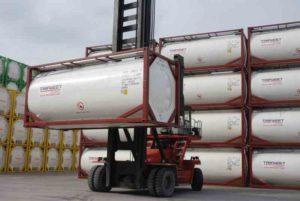 tank kontejner 40 futov